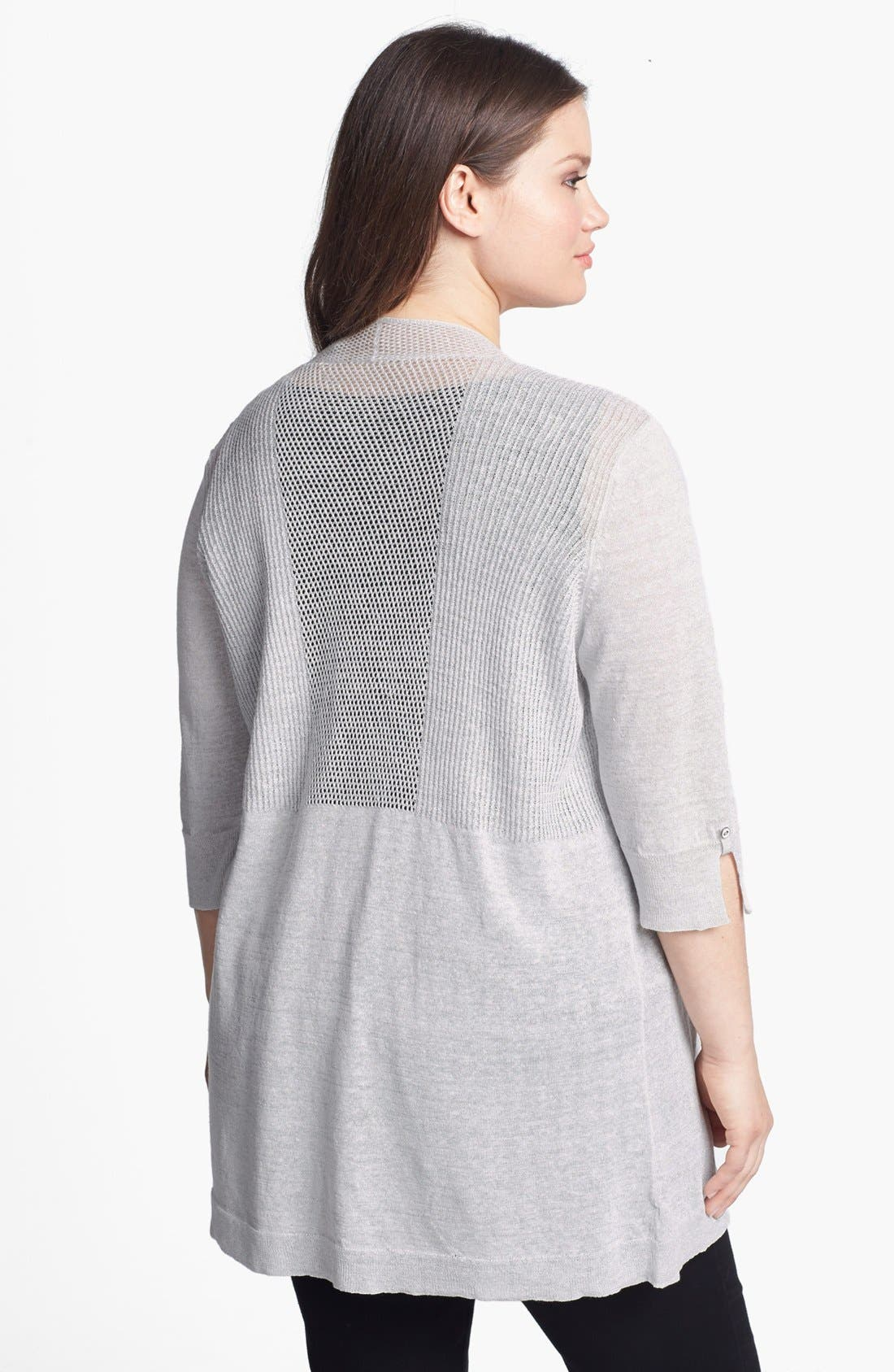 Alternate Image 2  - NIC+ZOE 'Firefly' Cardigan (Plus Size)
