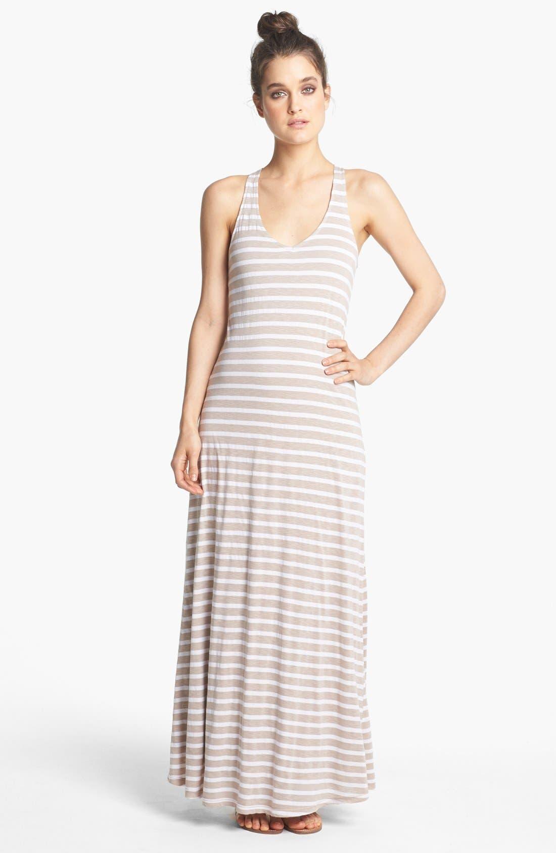 Alternate Image 1 Selected - Splendid Stripe Maxi Dress