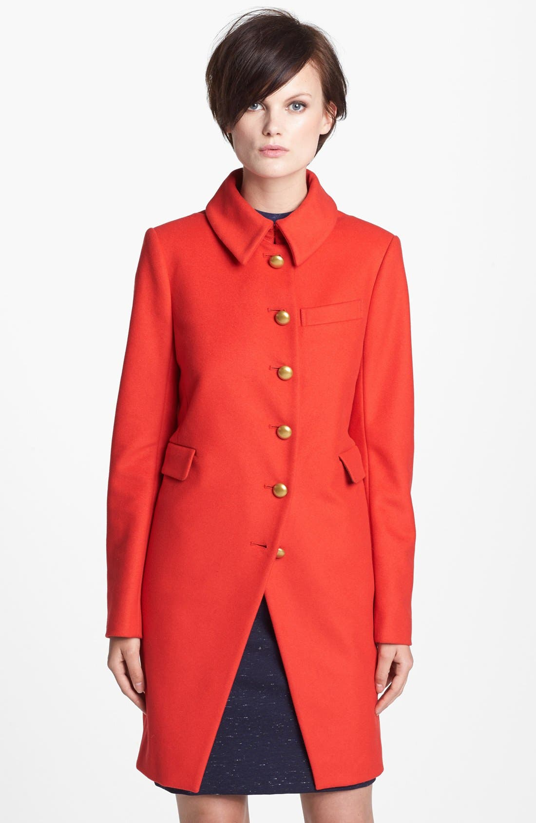 Alternate Image 1 Selected - MARC BY MARC JACOBS 'Nicoletta' Wool Blend Coat