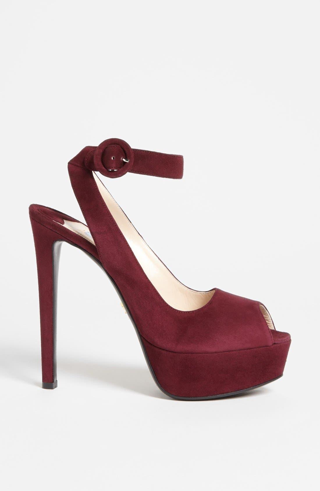 Alternate Image 4  - Prada Ankle Strap Platform Sandal