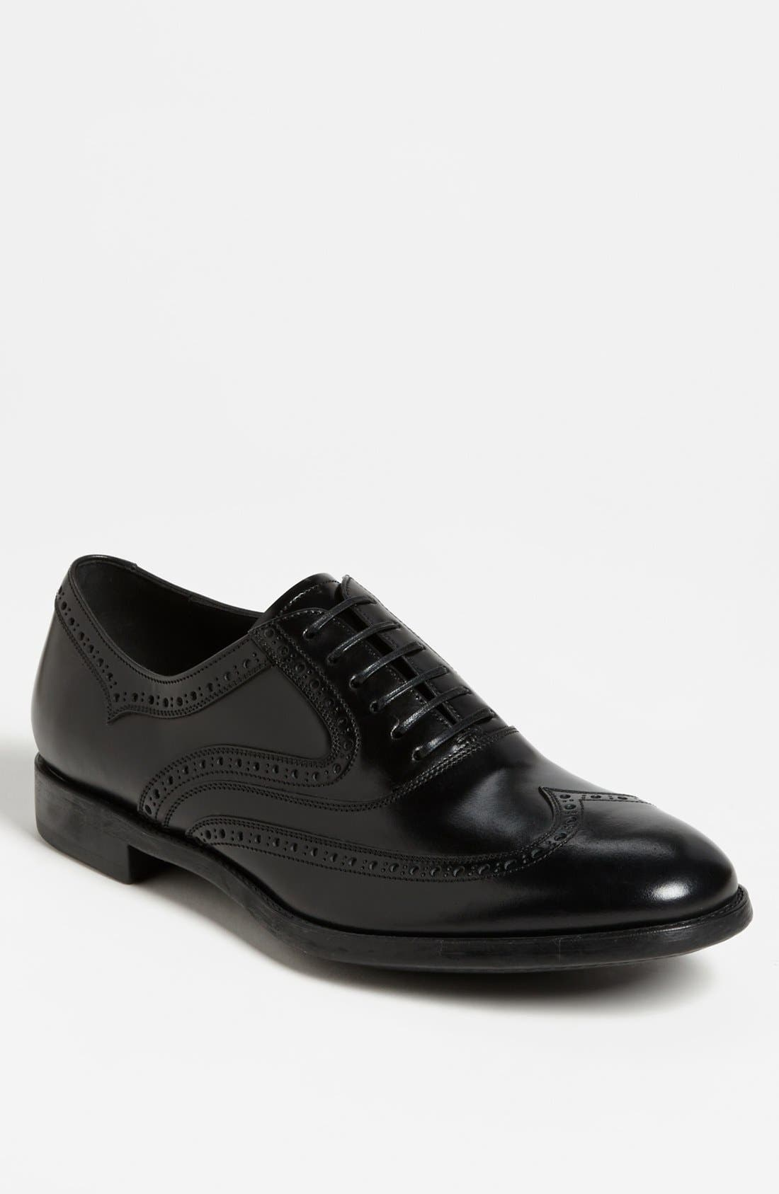 Alternate Image 1 Selected - Salvatore Ferragamo 'Sinesio' Wingtip