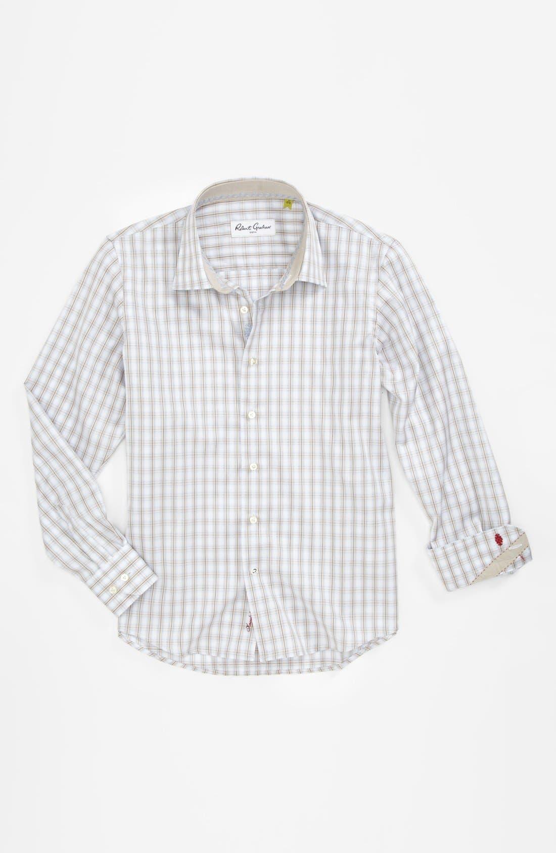 Alternate Image 1 Selected - Robert Graham Dress Shirt (Big Boys)