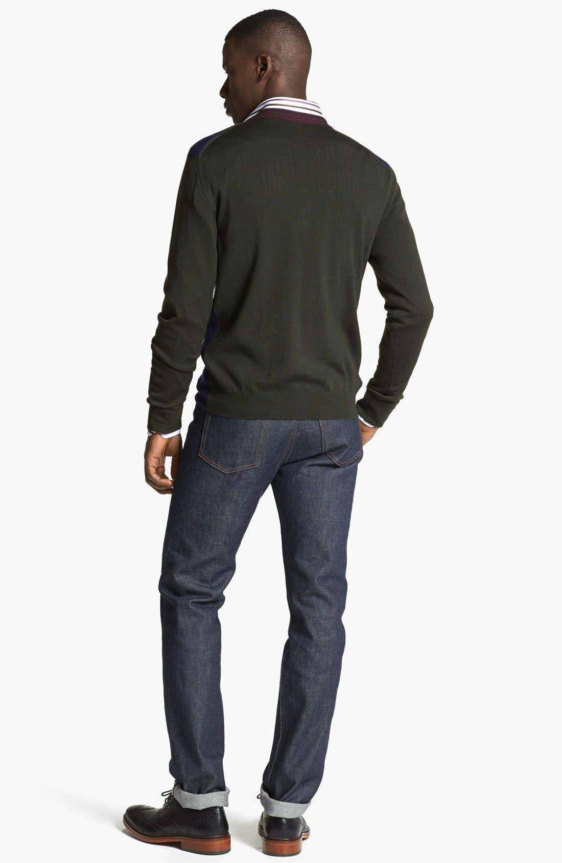 Alternate Image 5  - Etro Colorblock Wool Cardigan