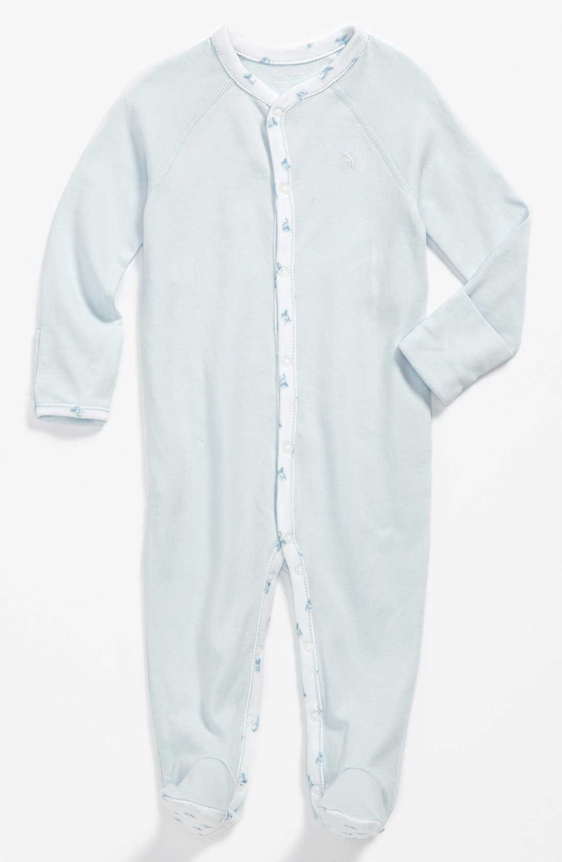 Main Image - Ralph Lauren Footie (Baby Boys)