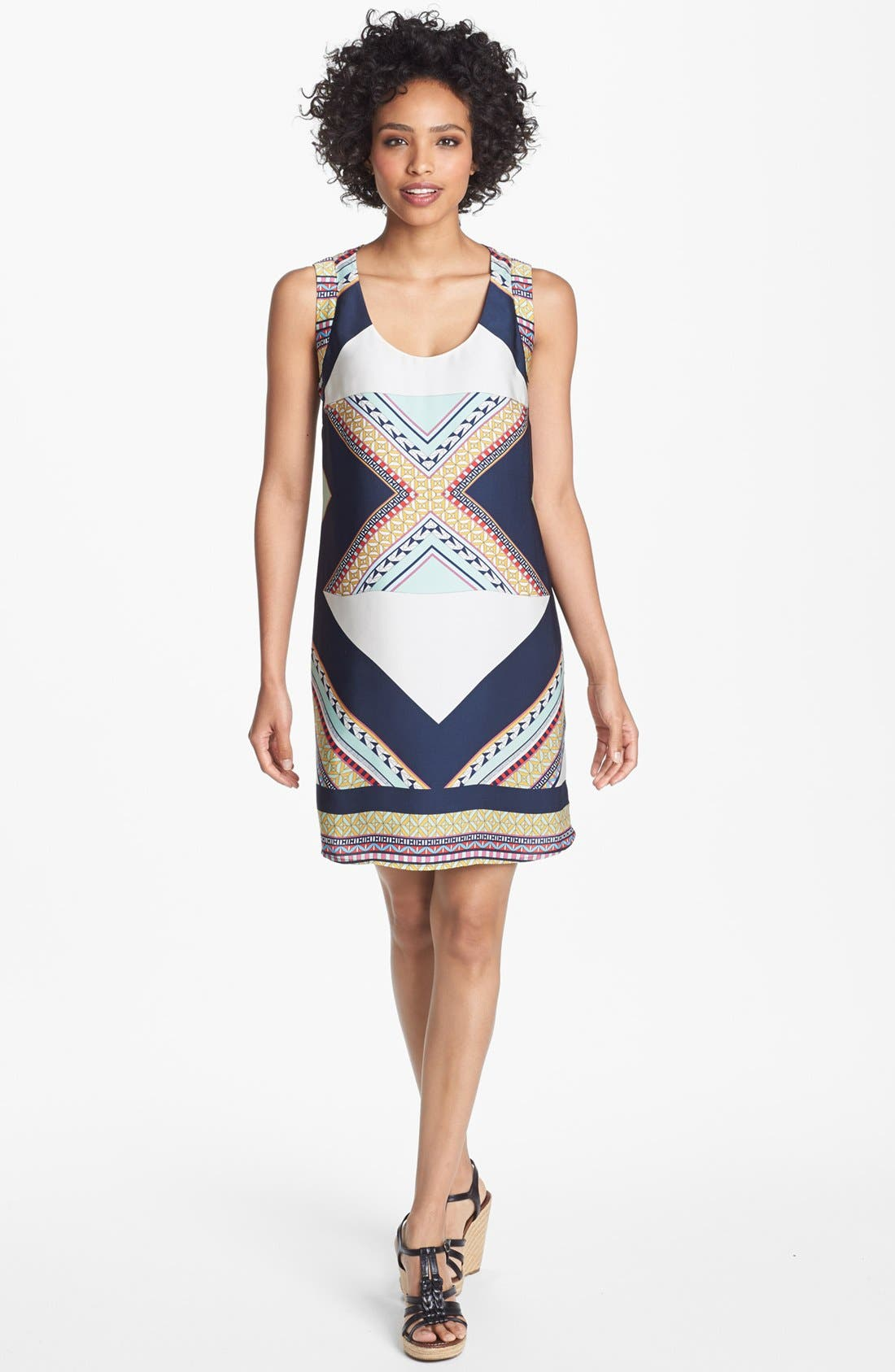 Alternate Image 1 Selected - Collective Concepts Print Shift Dress
