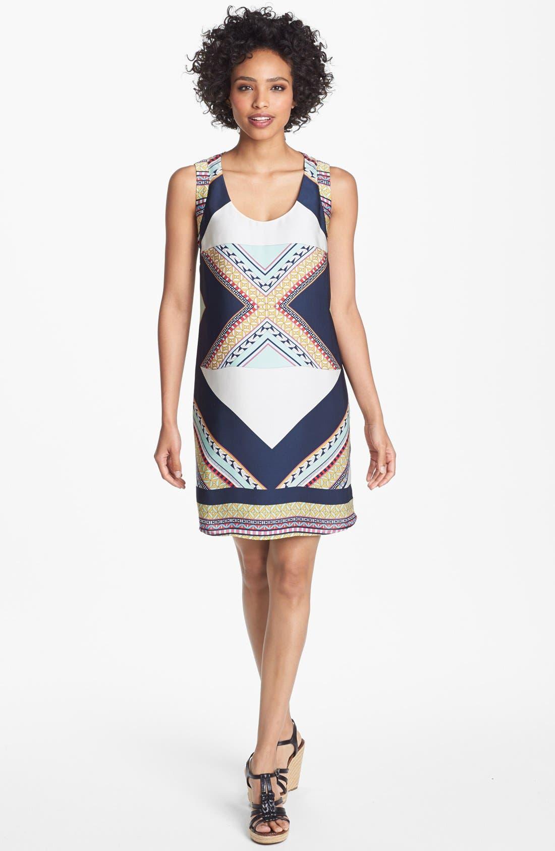 Main Image - Collective Concepts Print Shift Dress