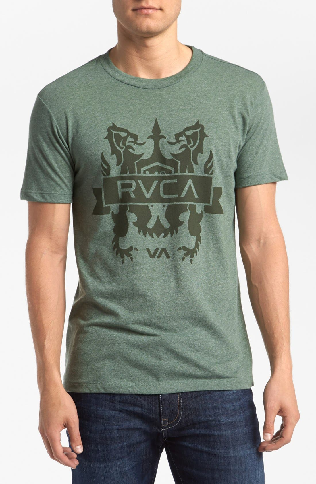 Alternate Image 1 Selected - RVCA 'Crest' T-Shirt