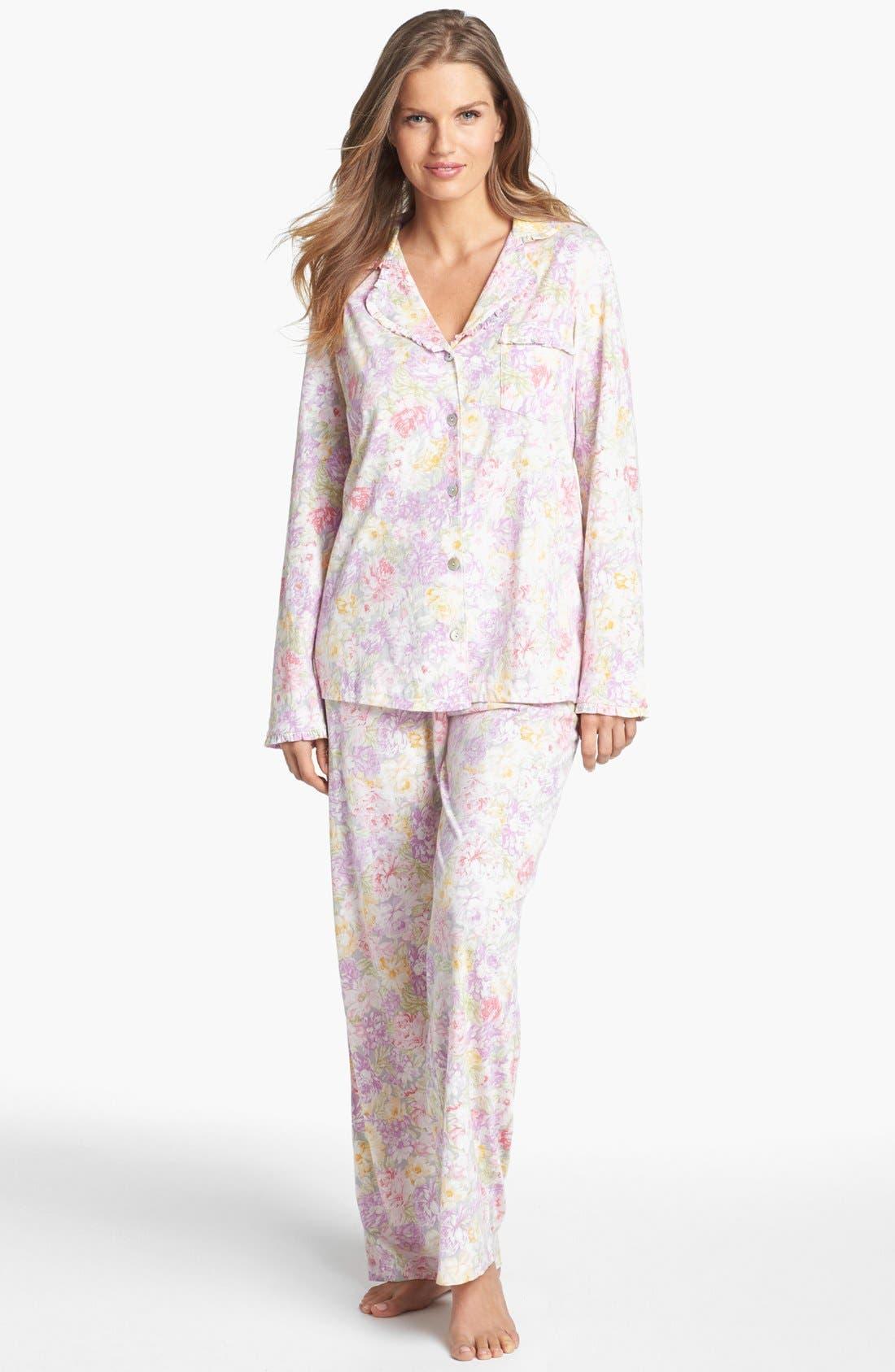 Alternate Image 1 Selected - Carole Hochman Designs 'Garden Arrangement' Pajamas