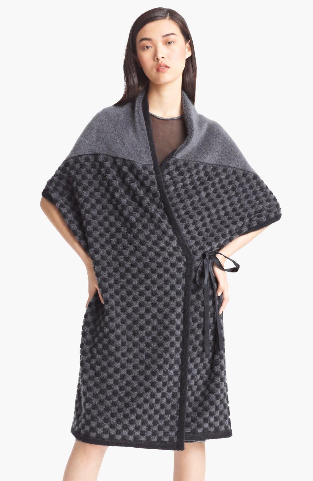 Main Image - Missoni Long Checkerboard Pattern Shrug