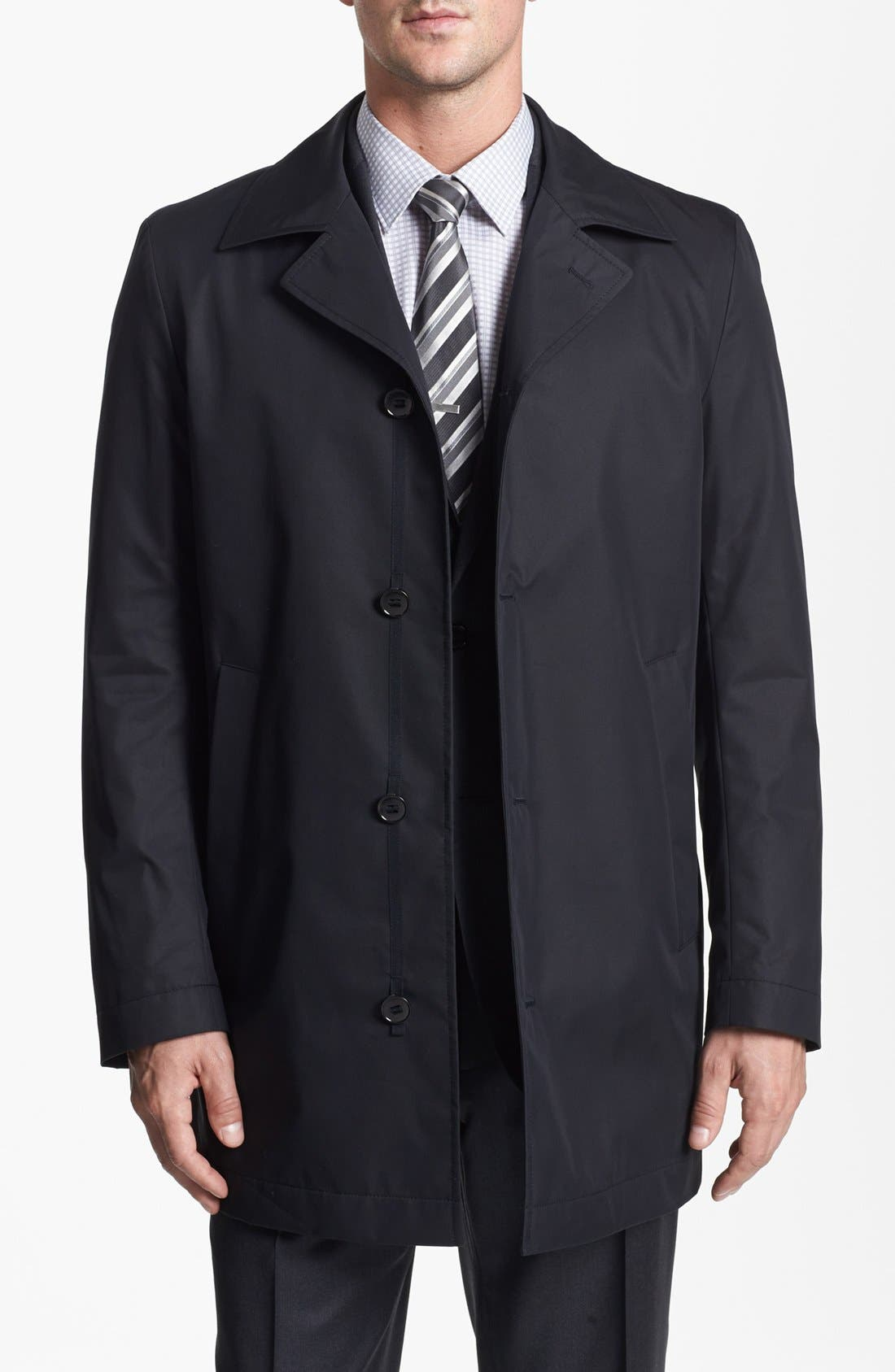 Main Image - BOSS HUGO BOSS 'Dias' Raincoat
