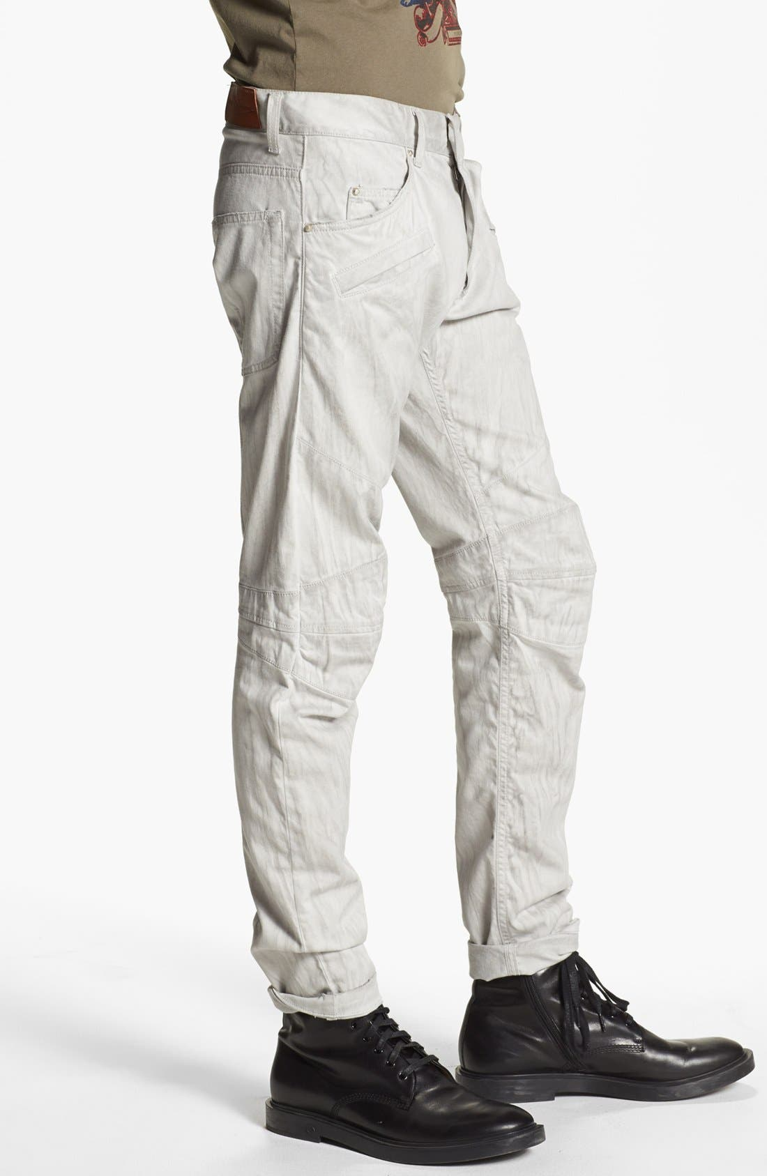 Alternate Image 3  - Pierre Balmain Slim Fit Jeans (Off White) (Online Only)