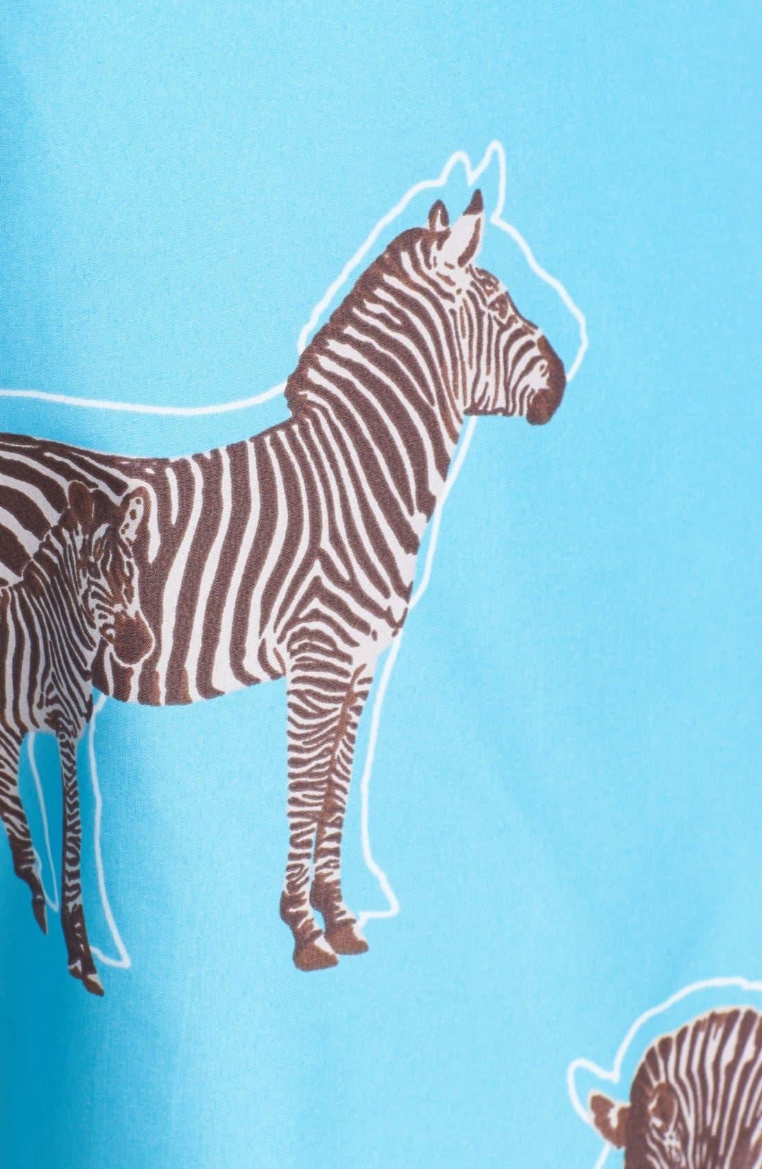 Alternate Image 3  - Vilebrequin 'Mahina' Zebra Print Swim Trunks