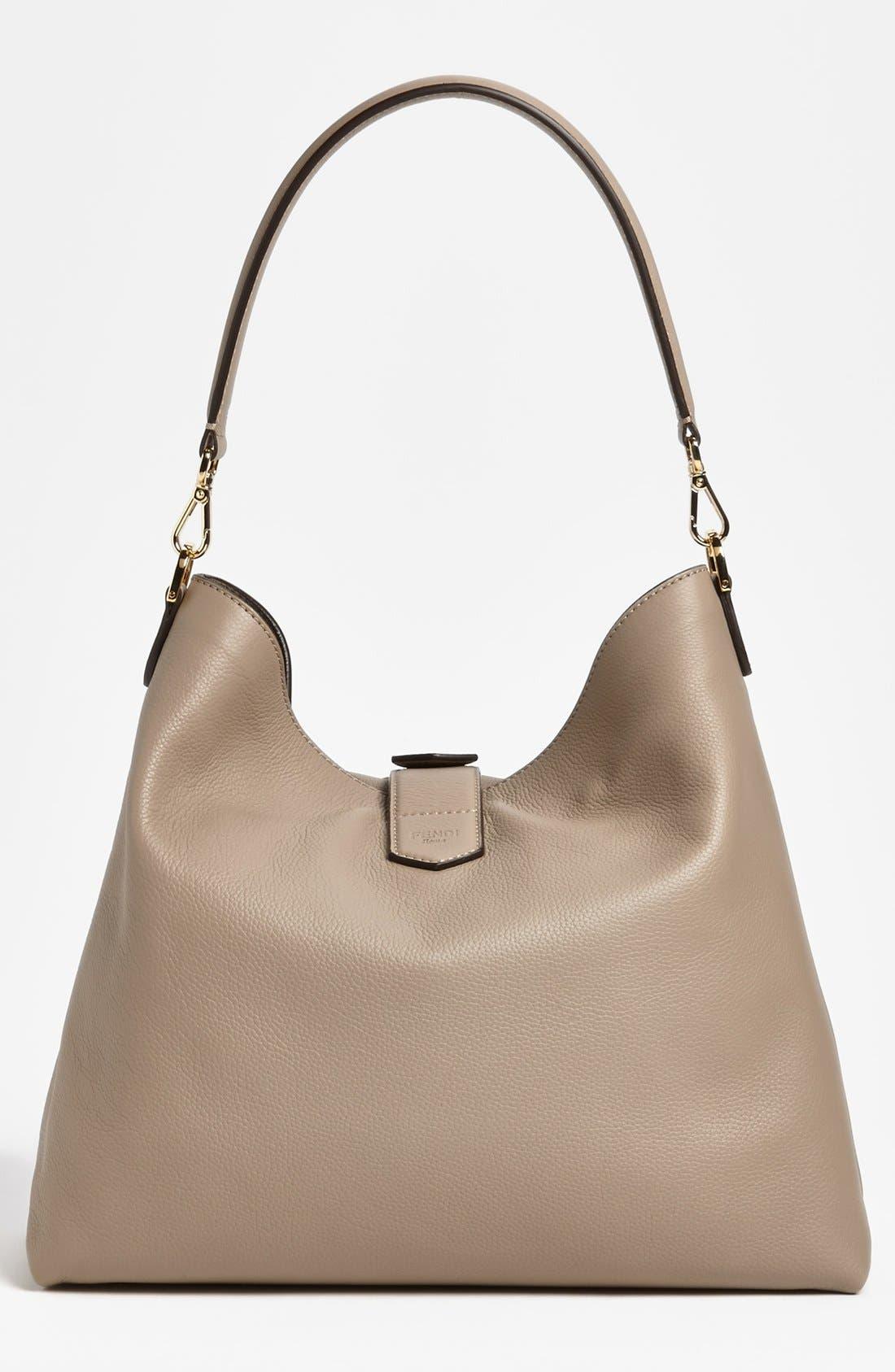 Alternate Image 4  - Fendi Leather Hobo