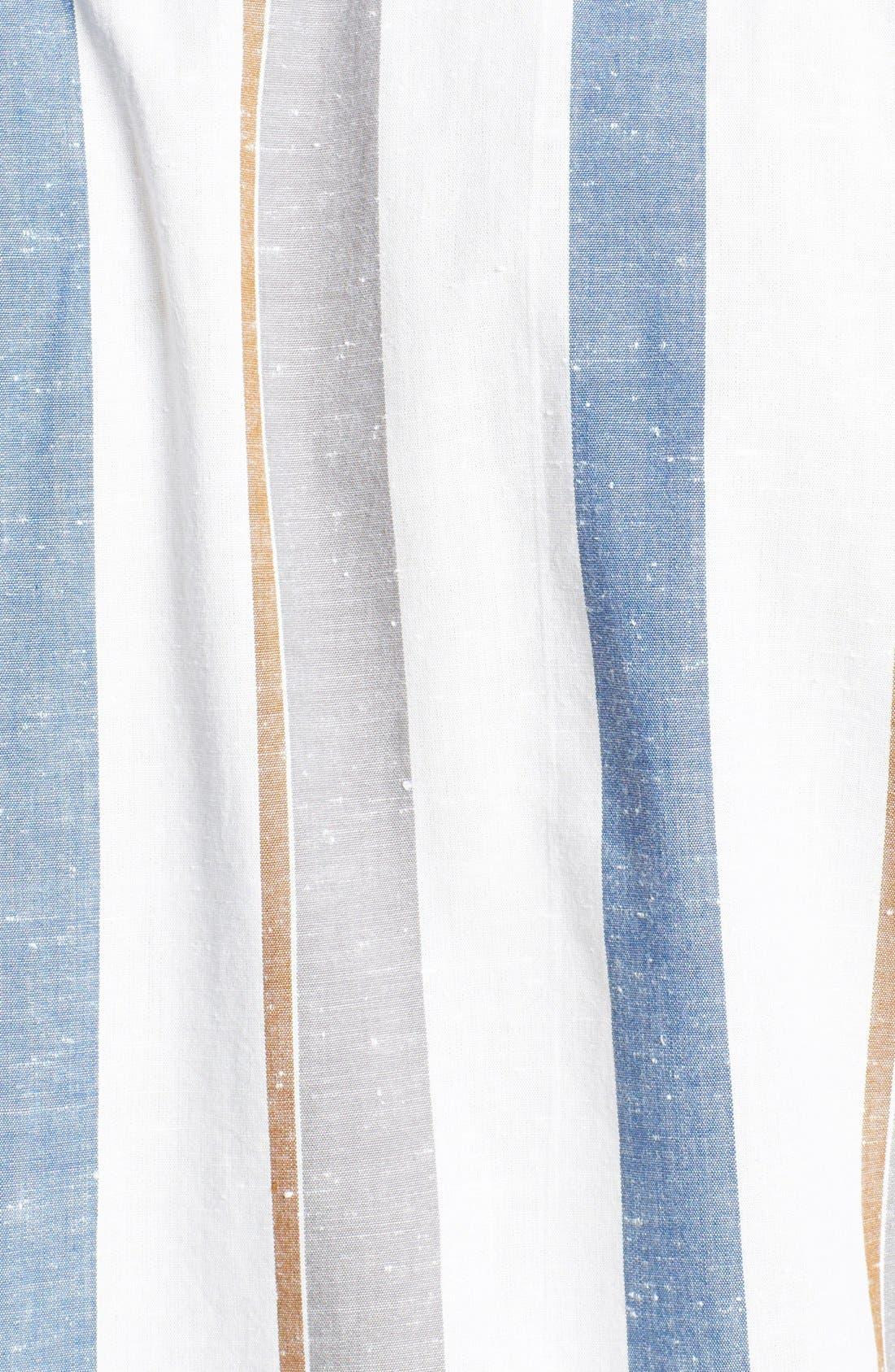Alternate Image 2  - Volcom 'Memento' Stripe Print Woven Shirt