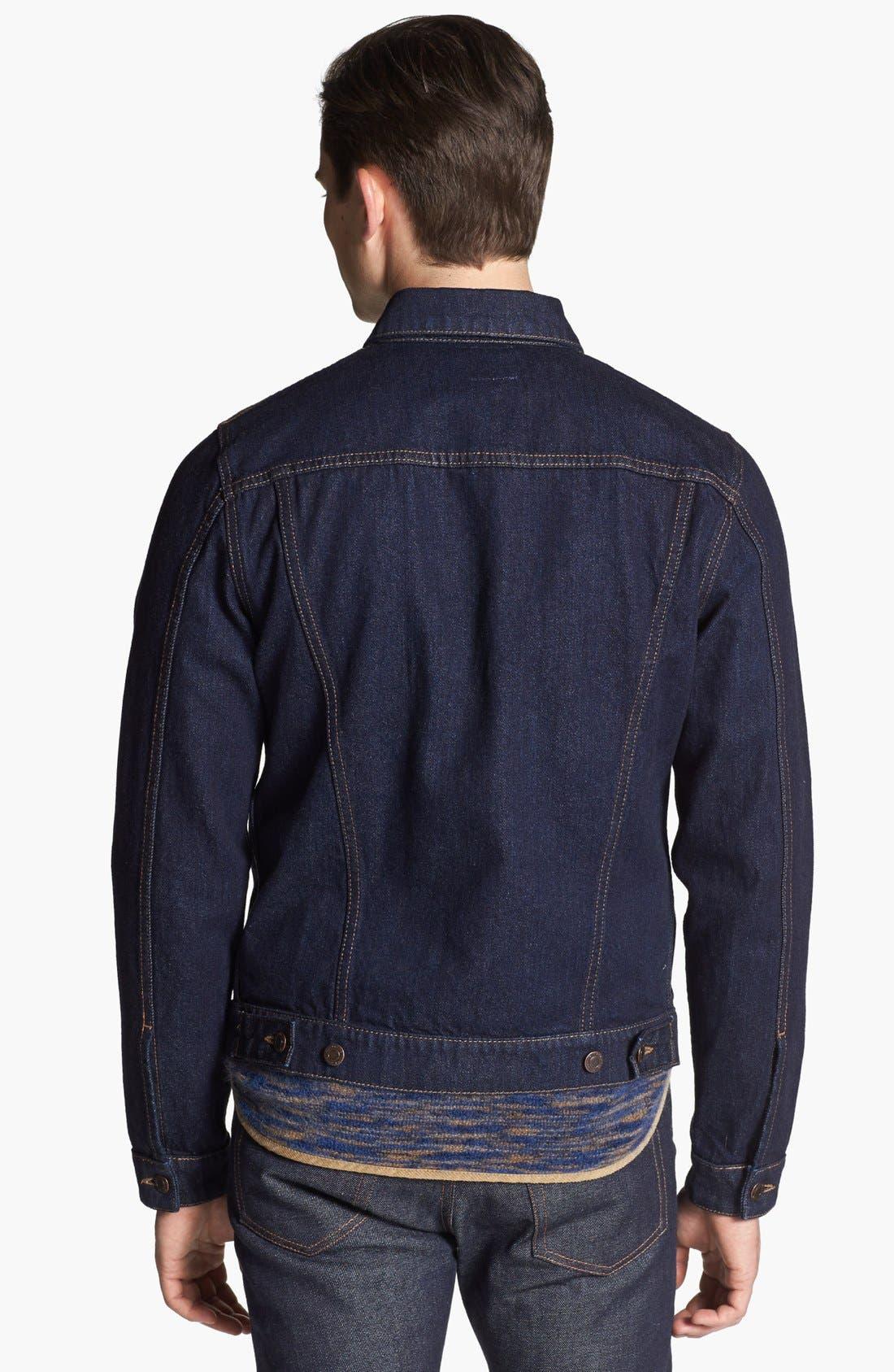 Alternate Image 2  - Missoni Denim Jacket with Removable Vest