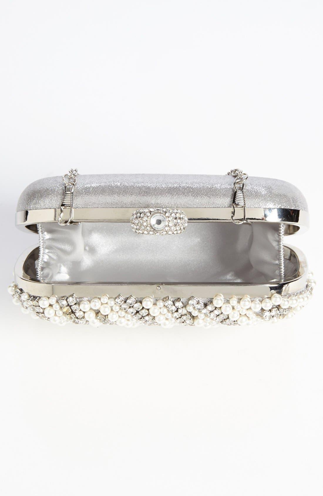 Alternate Image 3  - Tasha 'Pearl Stone' Clutch