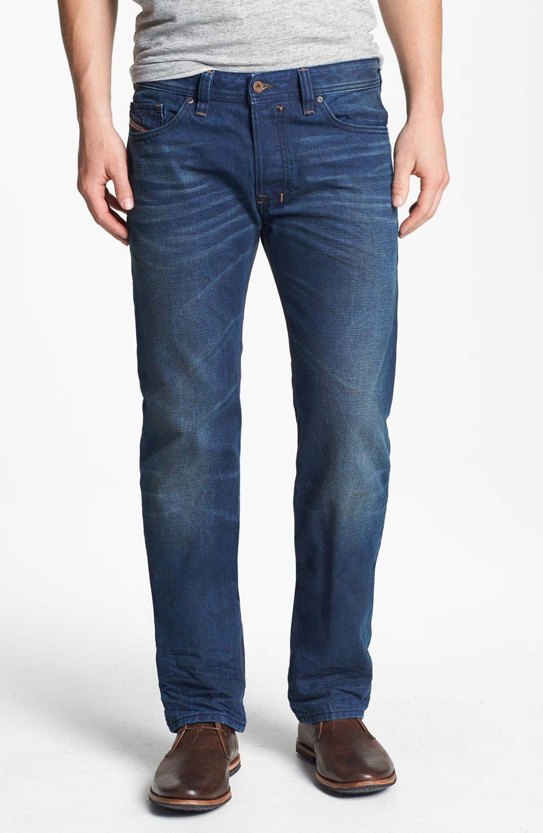 Alternate Image 2  - DIESEL® 'Safado' Slim Fit Jeans (0815A)