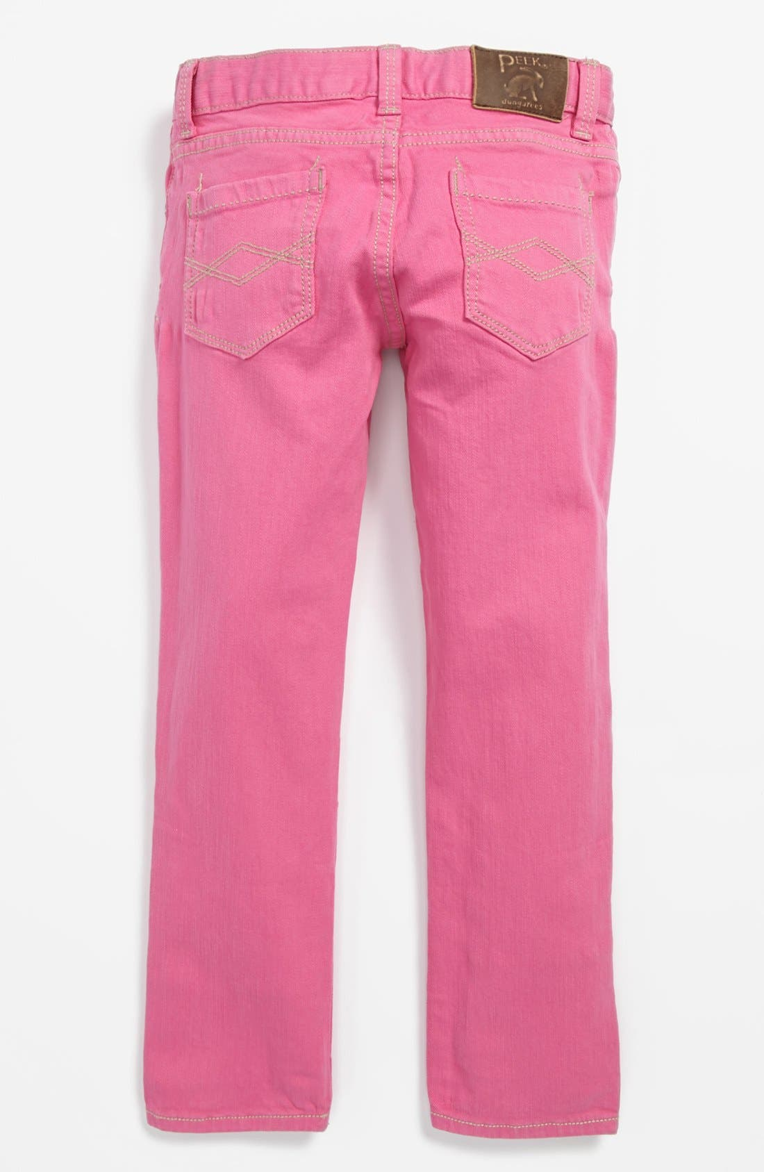 Alternate Image 1 Selected - Peek 'Dylan' Jeans (Toddler Girls, Little Girls & Big Girls)