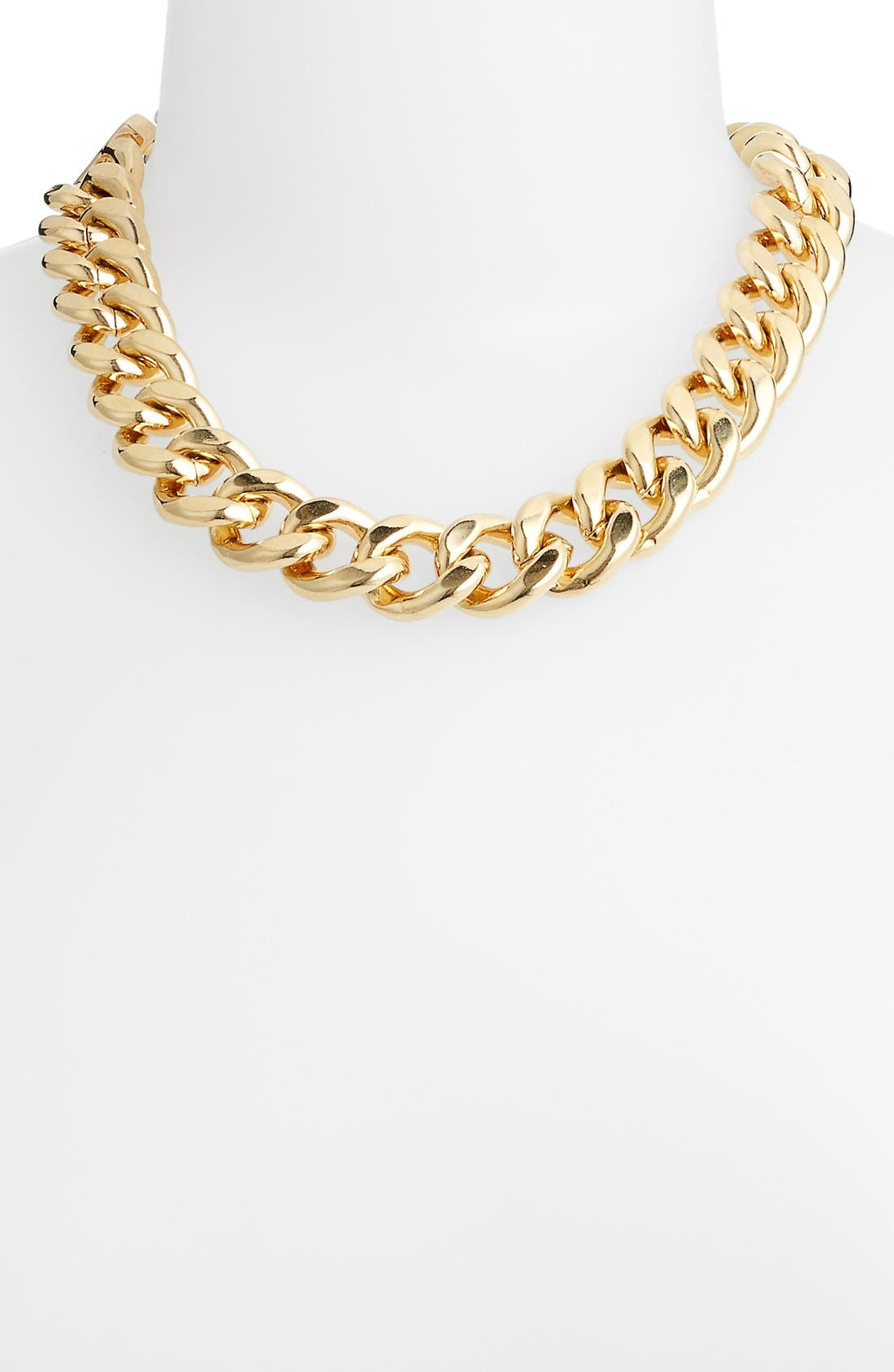 Main Image - Nordstrom Curb Link Collar Necklace
