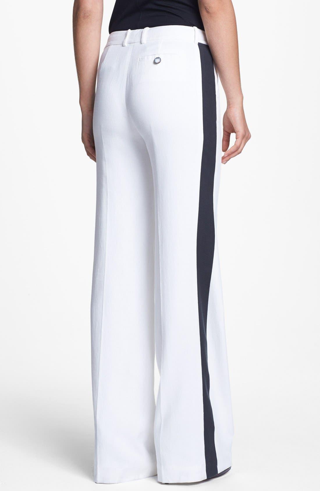 Alternate Image 2  - Rachel Zoe 'Jett' Tuxedo Stripe Wide Leg Pants