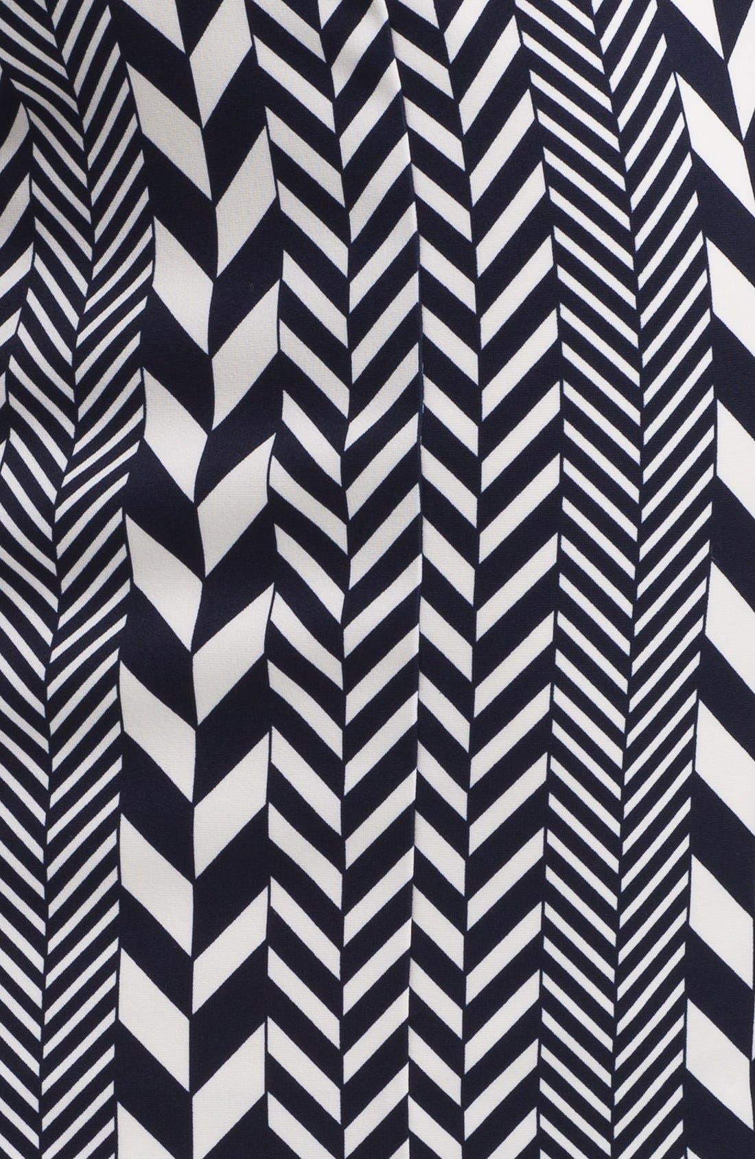 Alternate Image 2  - MICHAEL Michael Kors 'League Stripe' Pencil Skirt (Regular & Petite)