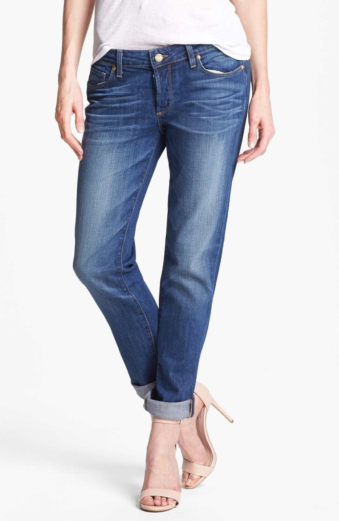 Alternate Image 1  - Paige Denim 'Jacob' Boyfriend Jeans (Woodlands)