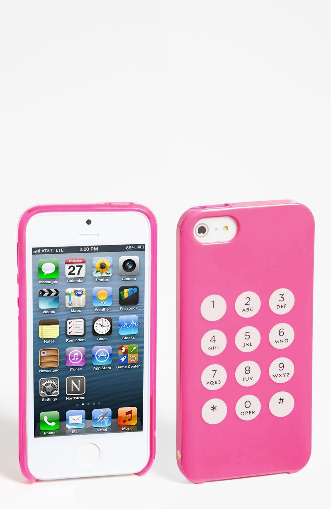 Main Image - kate spade new york 'key pad' iPhone 5 & 5S case
