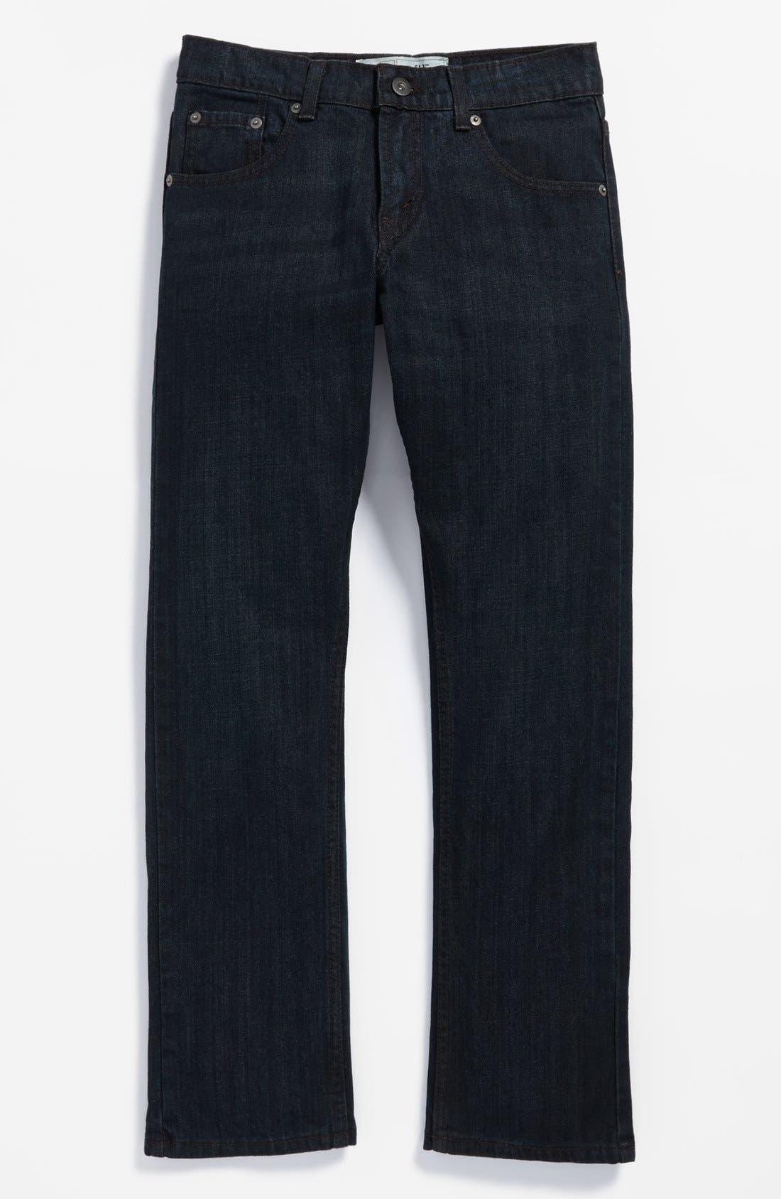 Alternate Image 2  - Levi's® '513™' Slim Straight Leg Jeans (Big Boys)