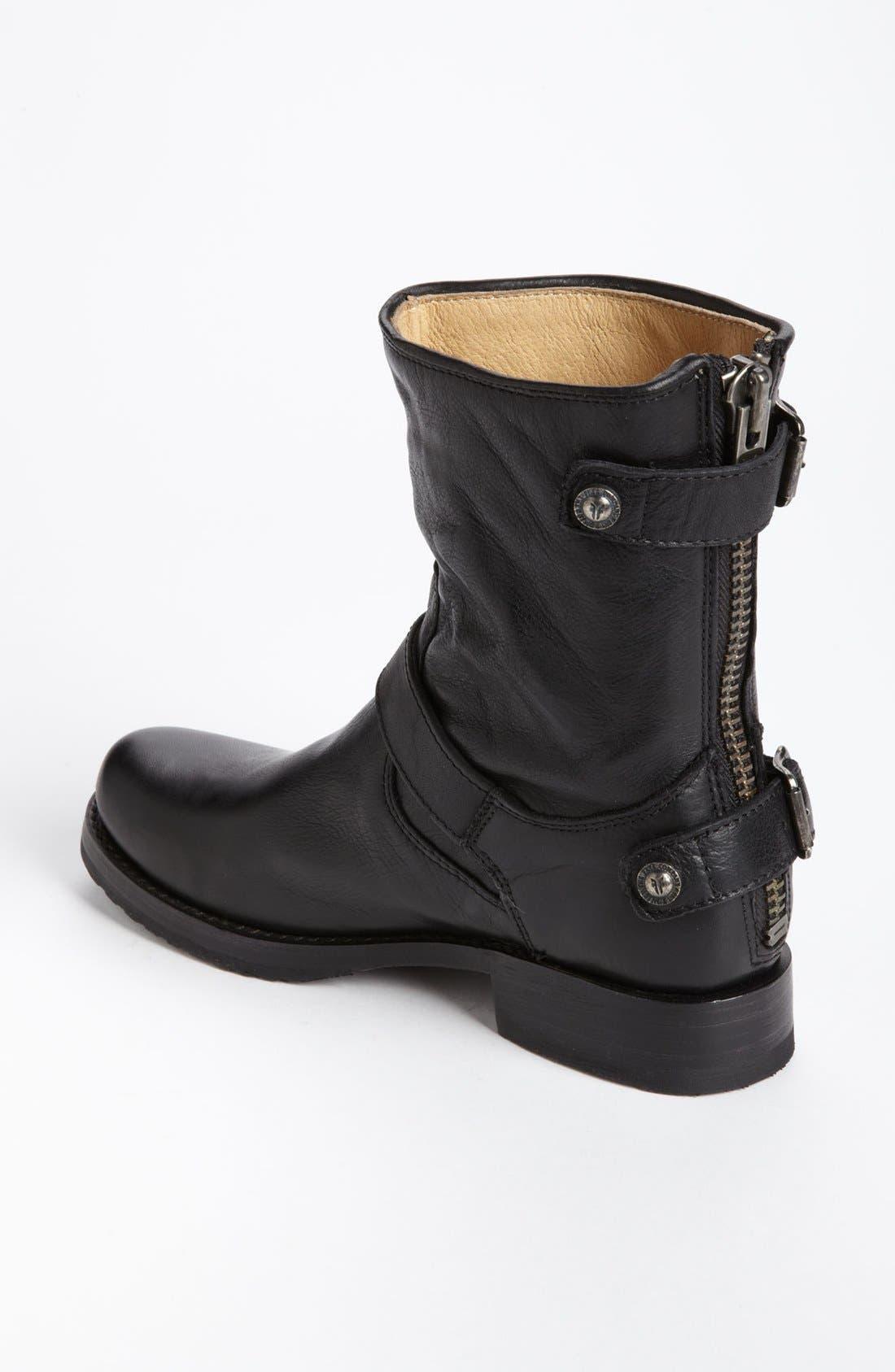 Alternate Image 2  - Frye 'Veronica' Back Zip Short Boot