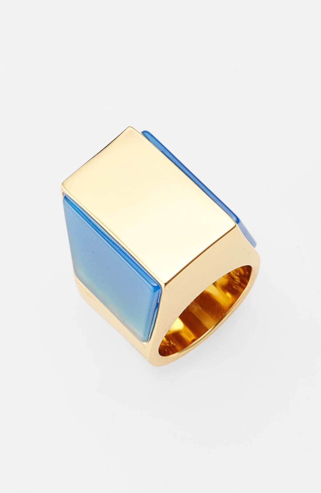 Alternate Image 1 Selected - Vince Camuto 'Love Stoned' Geometric Statement Ring