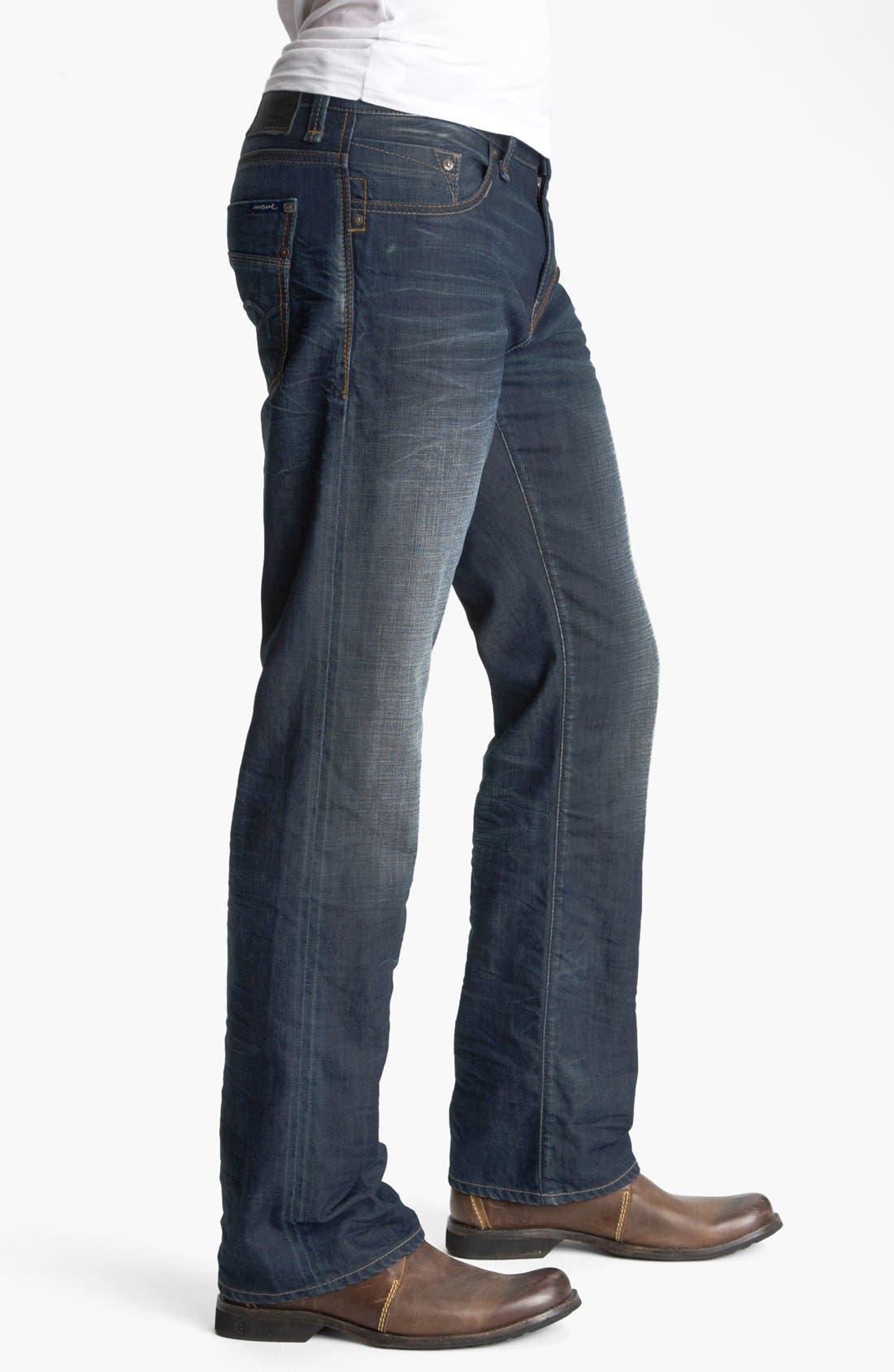 Alternate Image 3  - Mavi Jeans 'Josh' Bootcut Jeans (Coated Jameson) (Online Only)