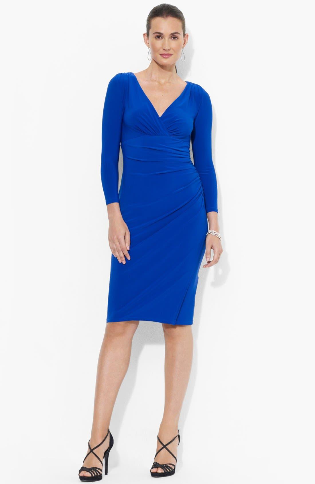 Alternate Image 1  - Lauren Ralph Lauren Matte Jersey Dress