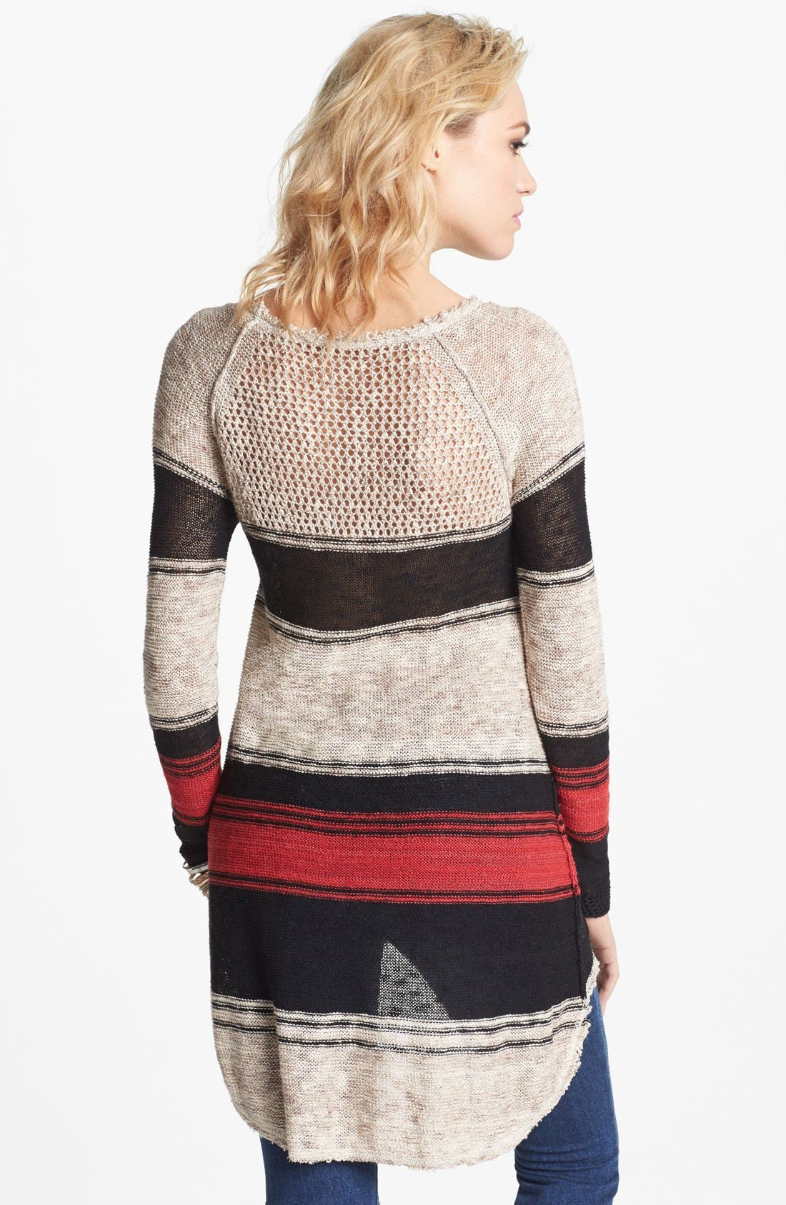 Alternate Image 2  - Free People 'Block of Stripes' Pullover
