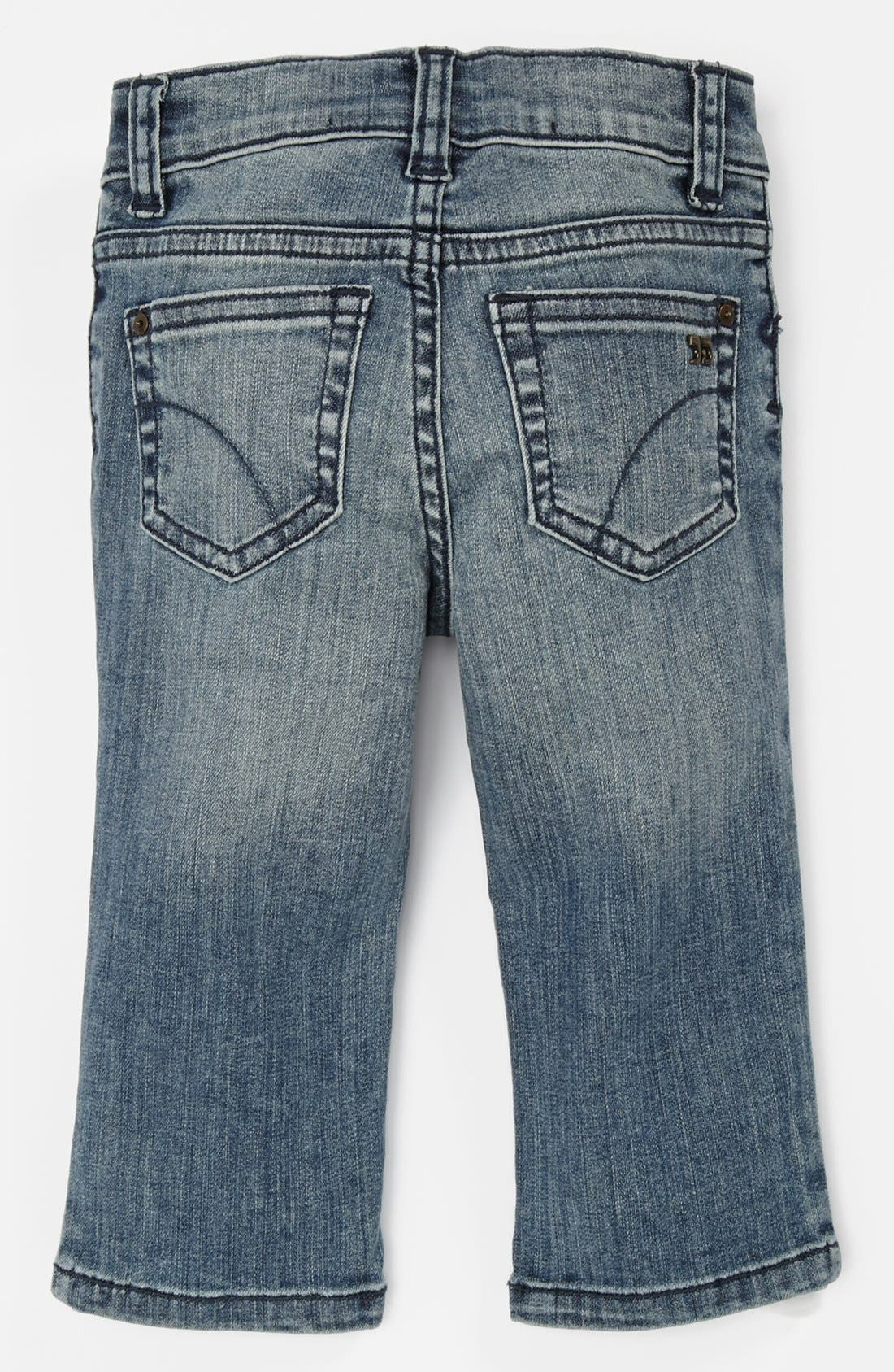 Alternate Image 1 Selected - Joe's 'Brixton' Straight Leg Jeans (Baby Boys)
