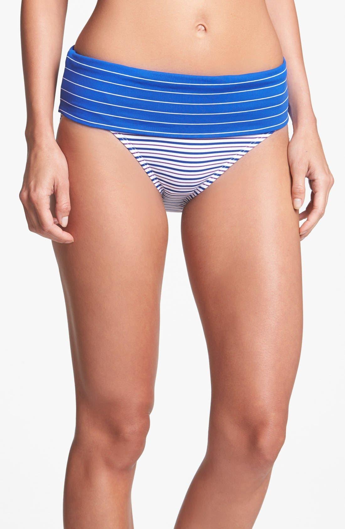 Main Image - Tommy Bahama 'Mingling' High Waist Bikini Bottoms