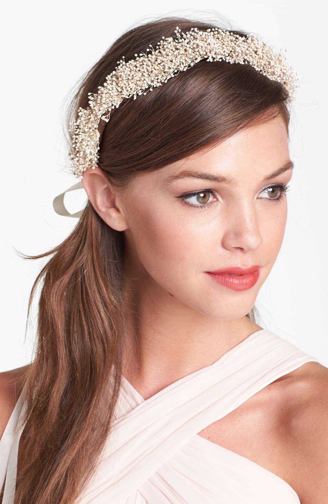 Main Image - Whichgoose Baby's Breath Crown
