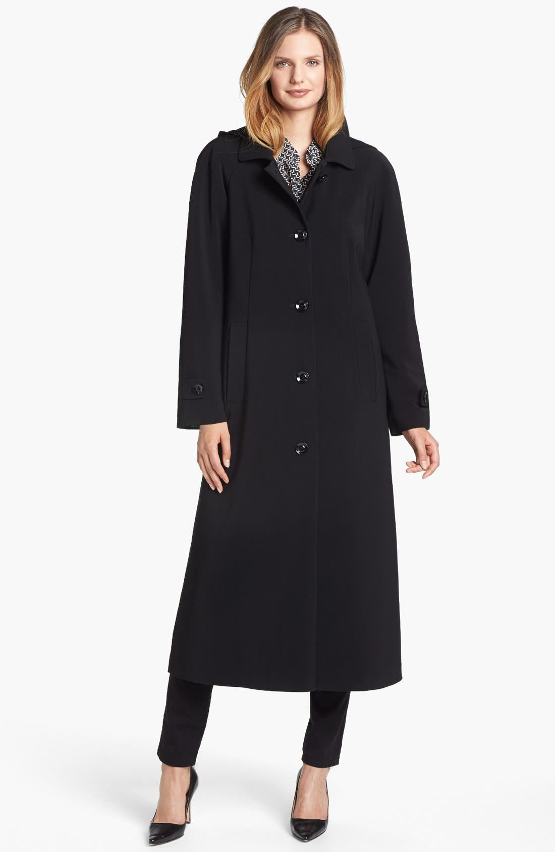 Alternate Image 1 Selected - Gallery 'Nepage' Long Coat with Detachable Hood & Liner (Nordstrom Online Exclusive)
