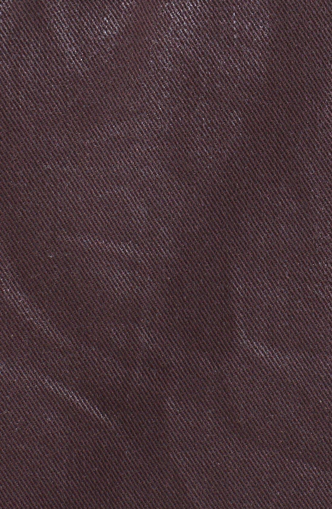 Alternate Image 3  - 7 For All Mankind® Coated Denim Jacket
