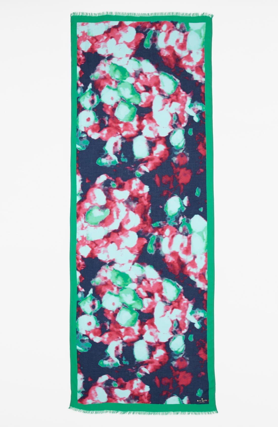 Alternate Image 2  - kate spade new york 'jumbo floral' scarf