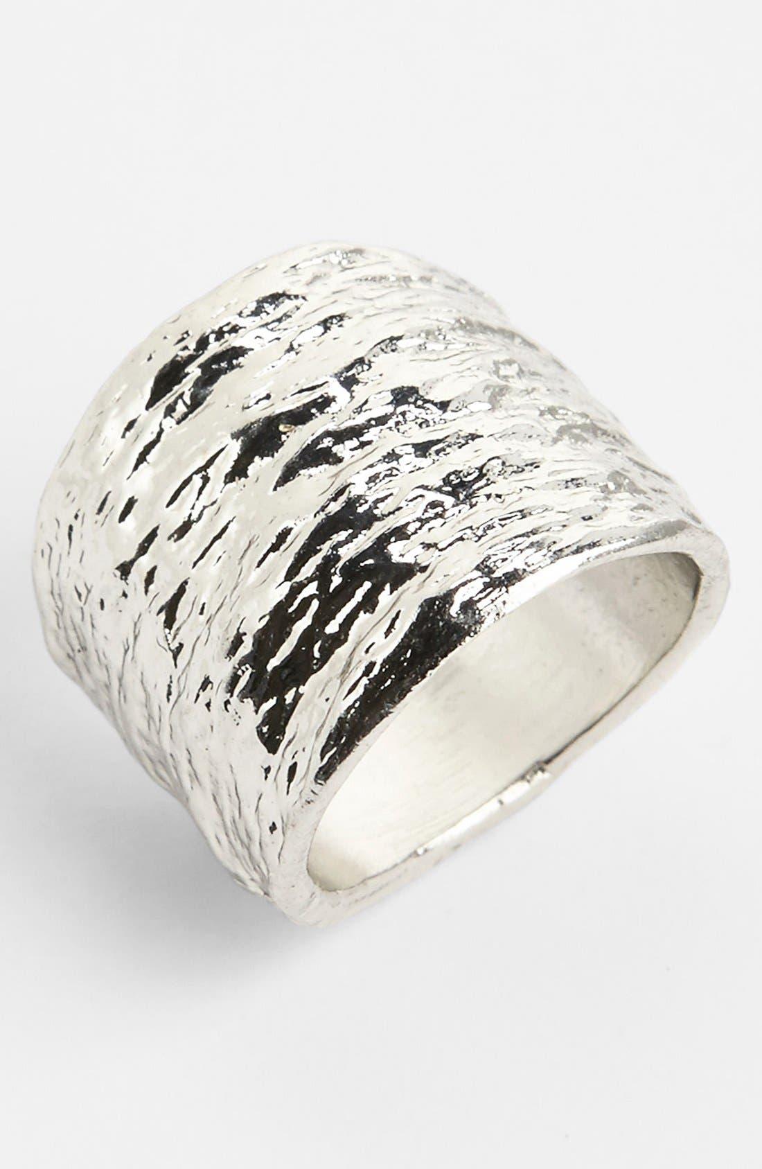 Main Image - Topshop Textured Ring