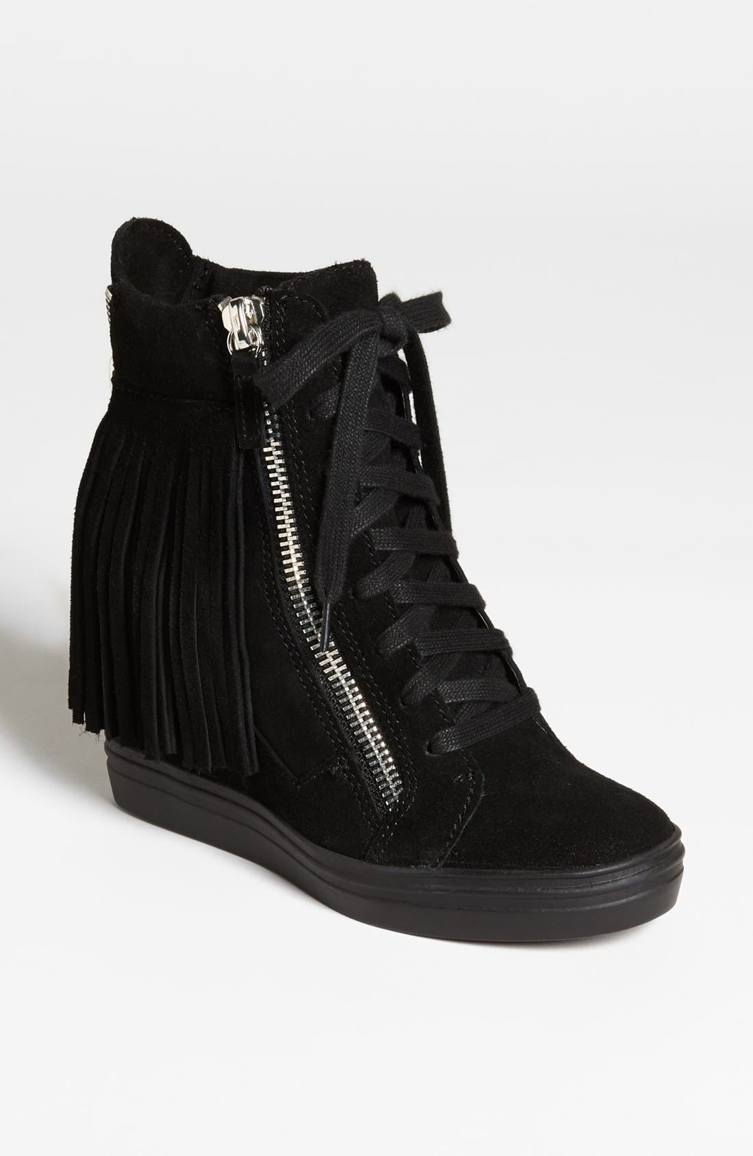 Alternate Image 1 Selected - Steve Madden 'Georga-F' Wedge Sneaker