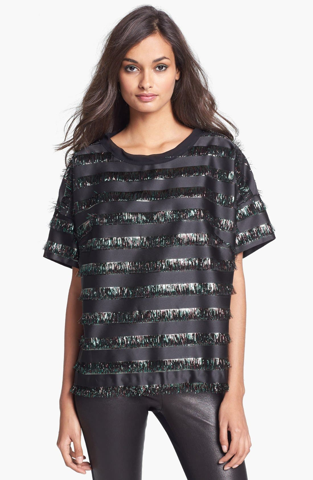 Alternate Image 1 Selected - Milly Drop Shoulder Tee
