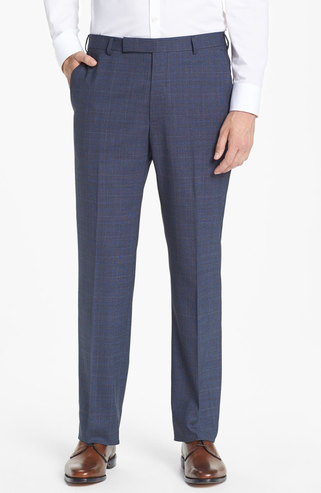 Alternate Image 5  - Z Zegna Plaid Wool Suit