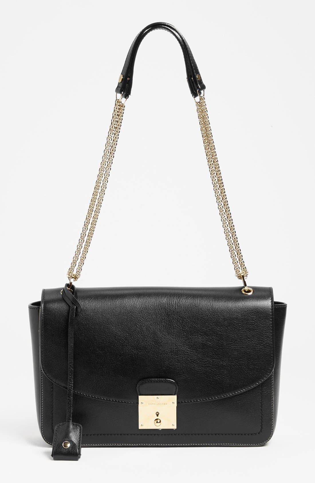 Alternate Image 1 Selected - MARC JACOBS '1984 Polly' Leather Shoulder Bag