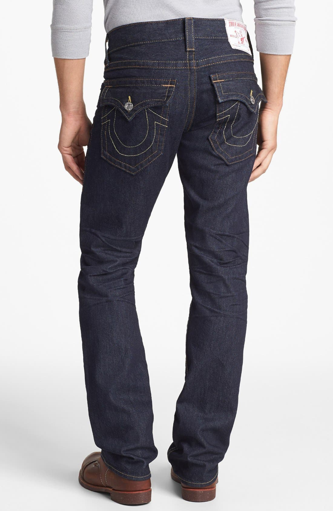 Alternate Image 1  - True Religion Brand Jeans 'Ricky' Relaxed Fit Jeans (Inglorious)