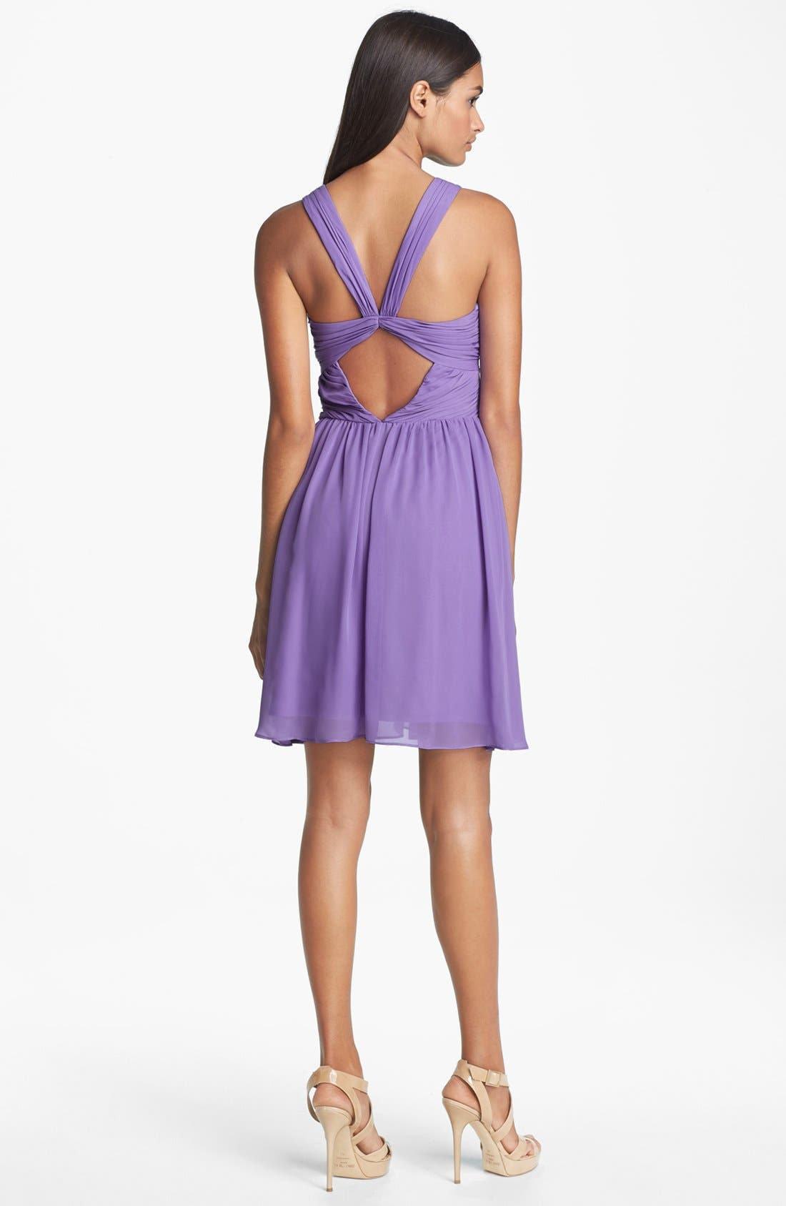 Alternate Image 2  - Hailey by Adrianna Papell Sweetheart Fit & Flare Dress