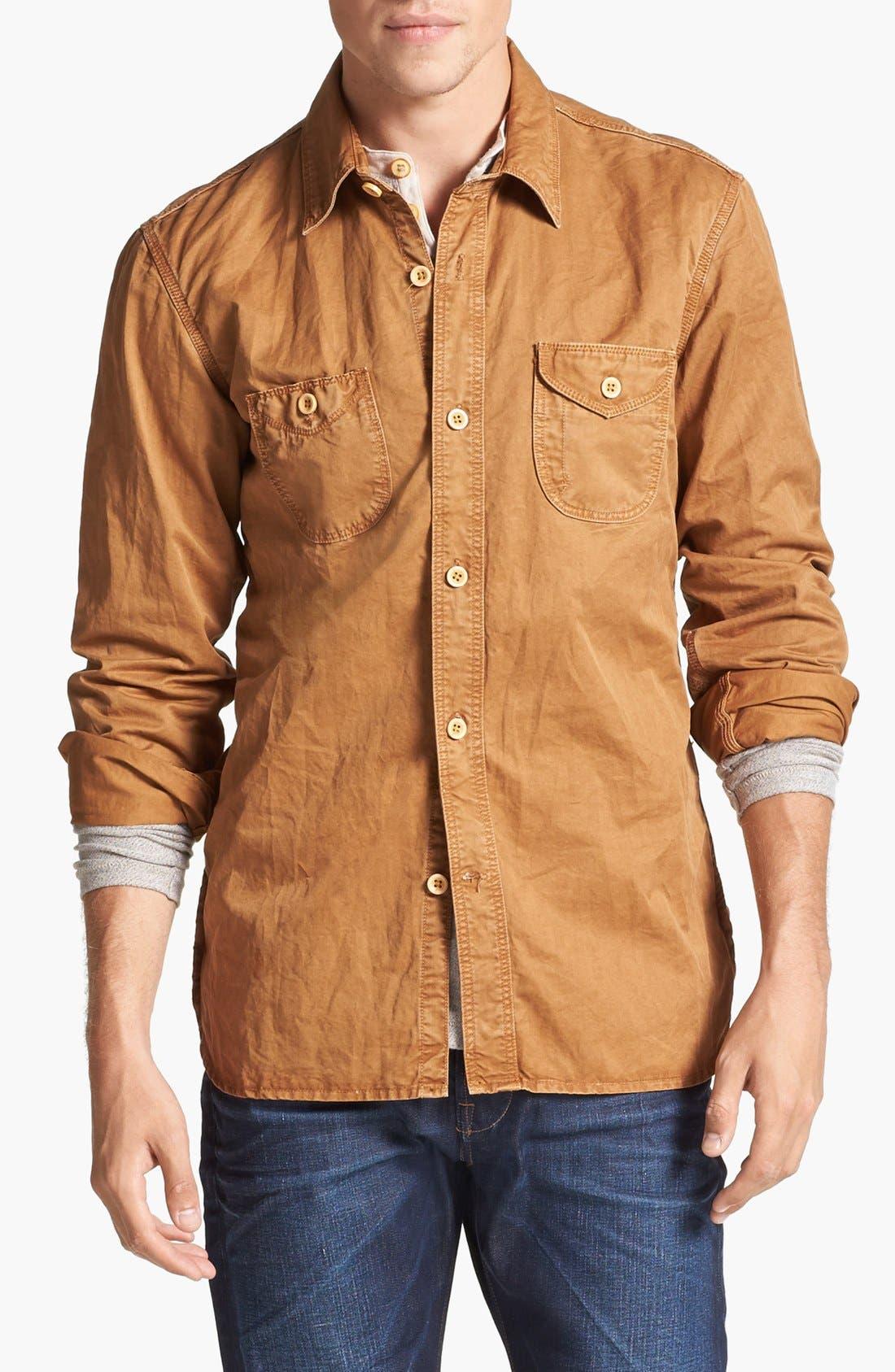 Main Image - PRPS Cotton Woven Shirt