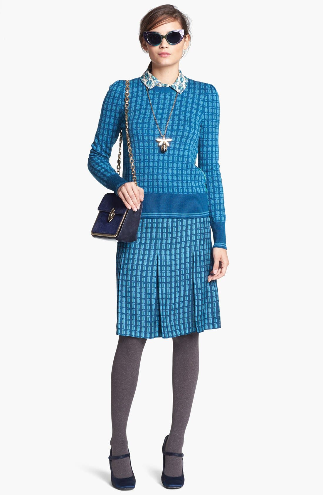 Alternate Image 4  - Tory Burch 'Leigh' Skirt