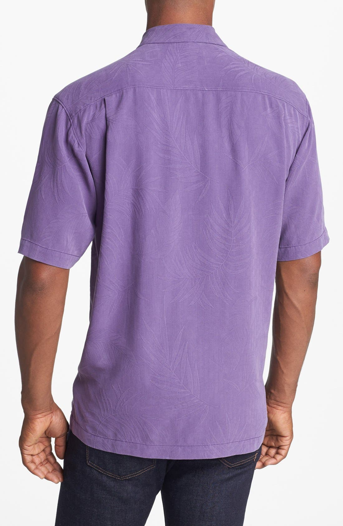 Alternate Image 2  - Tommy Bahama 'Tiki Palms' Original Fit Sport Shirt