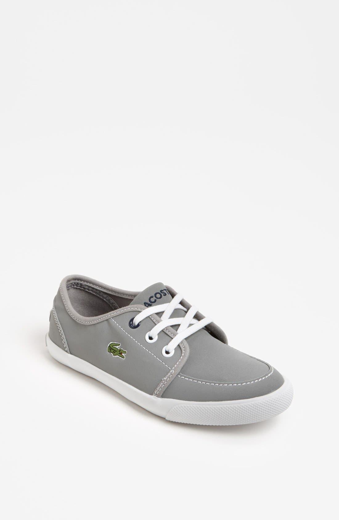 Main Image - Lacoste 'Boat DE' Sneaker (Toddler & Little Kid)